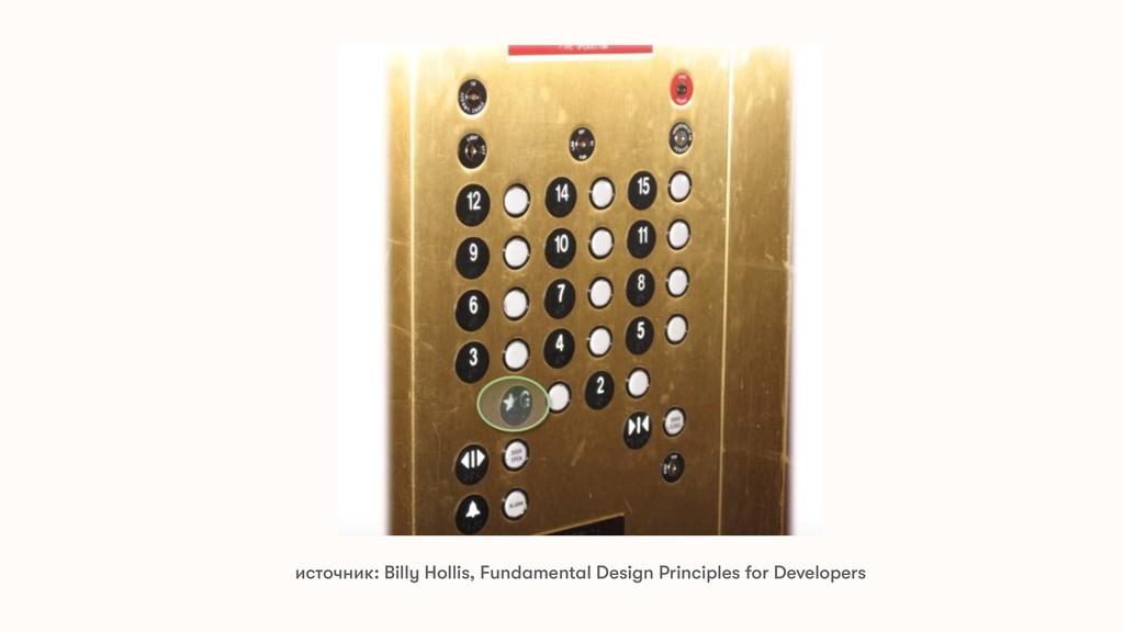 источник: Billy Hollis, Fundamental Design Prin...