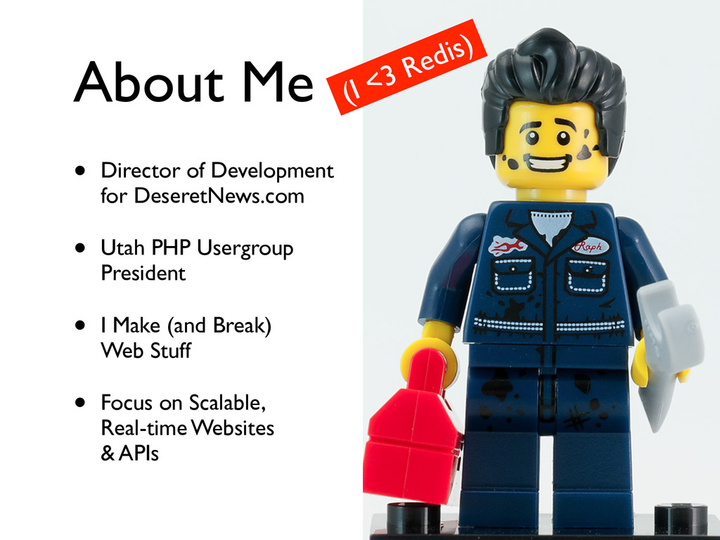 About Me • Director of Development