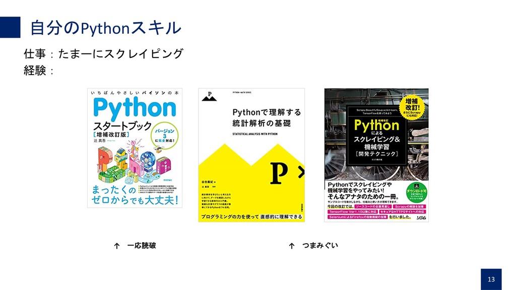 Python  13    ↑  ↑ ...