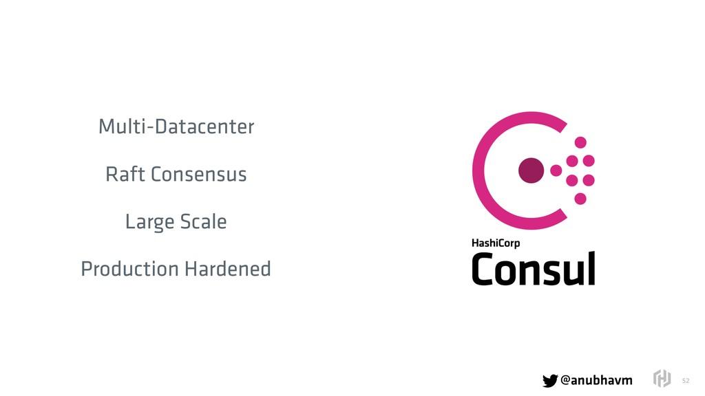 @anubhavm  !52 Multi-Datacenter Raft Consensus...