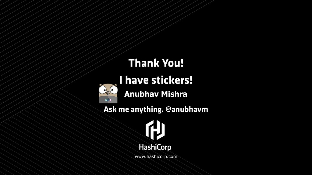 Thank You! I have stickers! Ask me anything. @a...