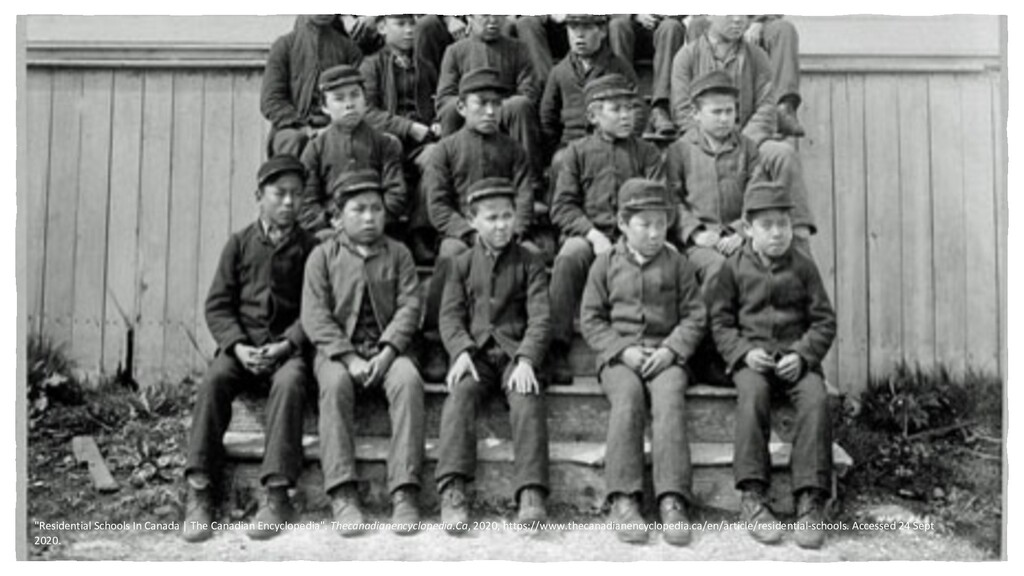 """""""Residential Schools In Canada 