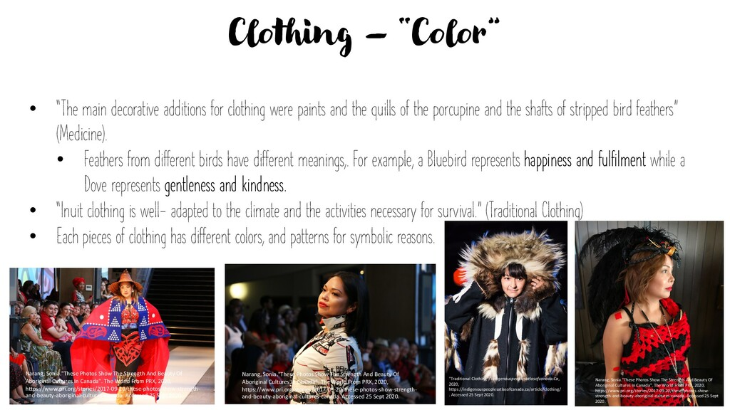 """Clothing – """"Color"""" • """"The main decorative addit..."""