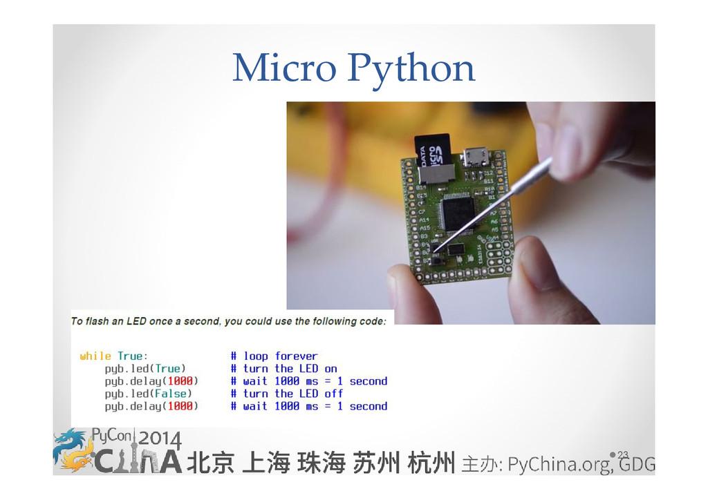 23 Micro Python