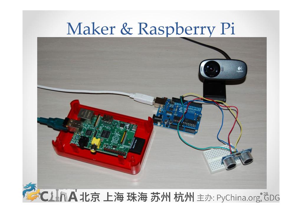 28 Maker & Raspberry Pi