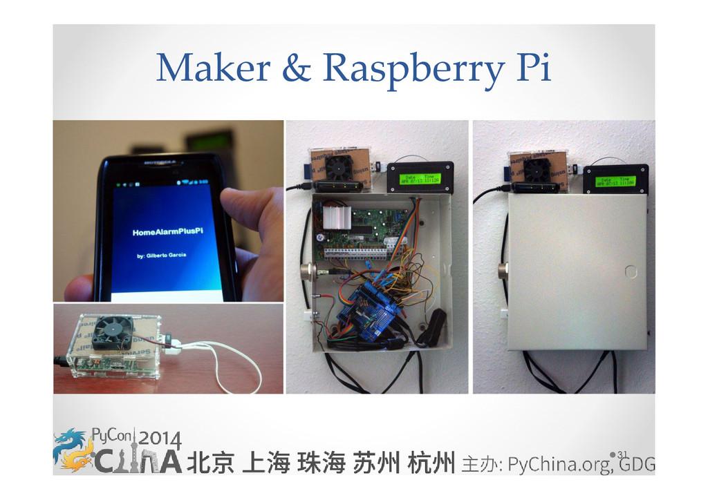 31 Maker & Raspberry Pi