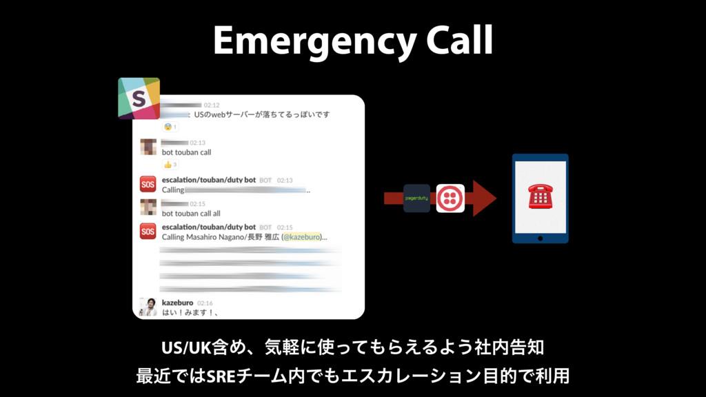 Emergency Call ☎ US/UKؚΊɺؾܰʹͬͯΒ͑ΔΑ͏ࣾࠂ ࠷ۙͰ...