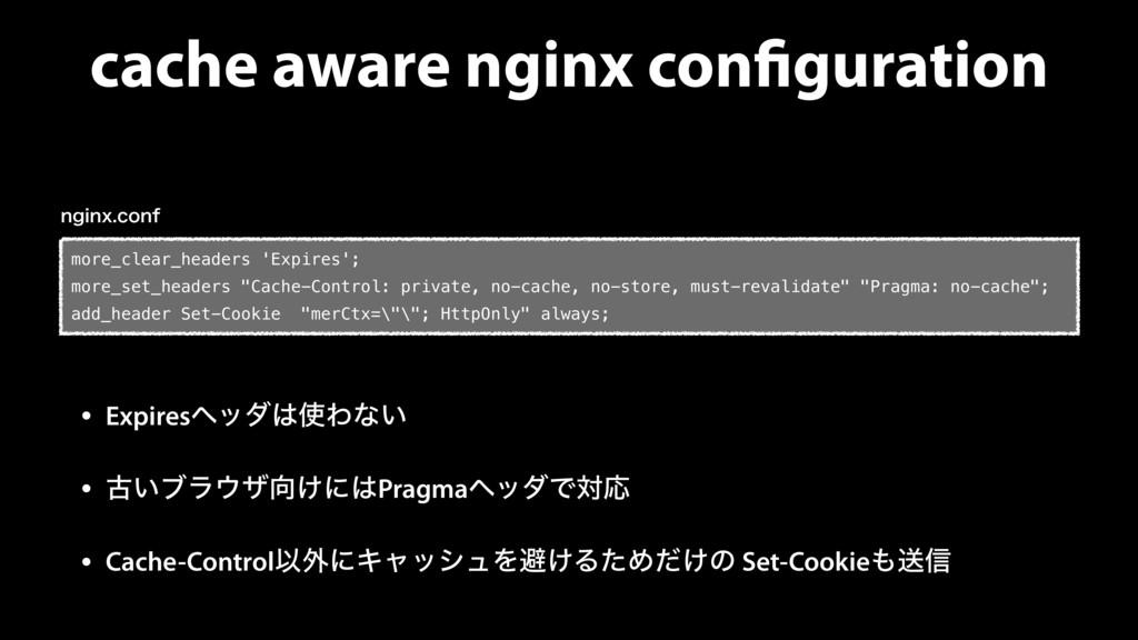 cache aware nginx configuration • ExpiresϔομΘ...