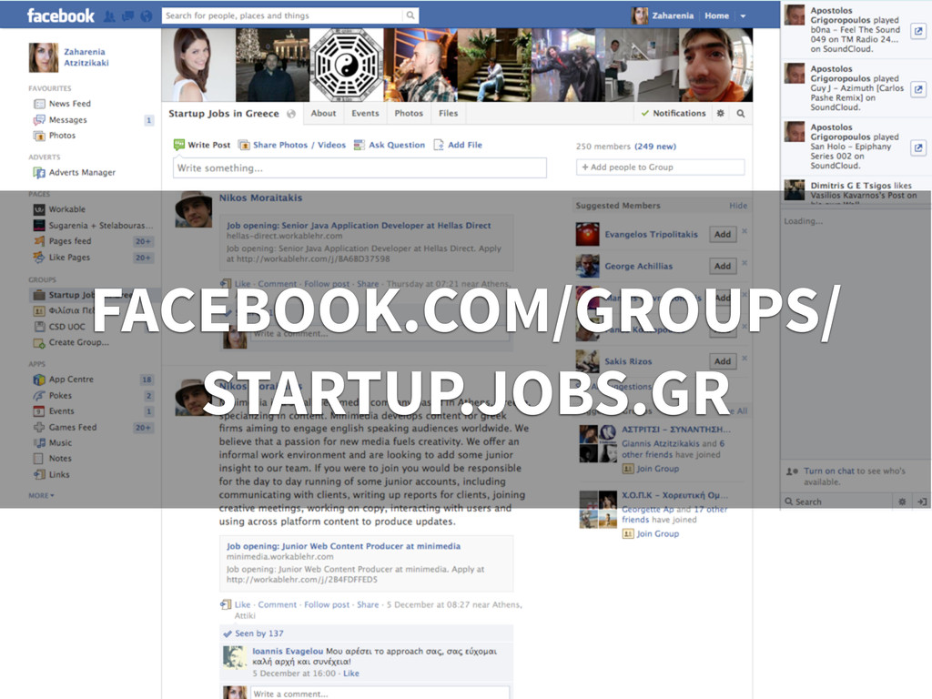 Facebook link to group FACEBOOK.COM/GROUPS/ STA...