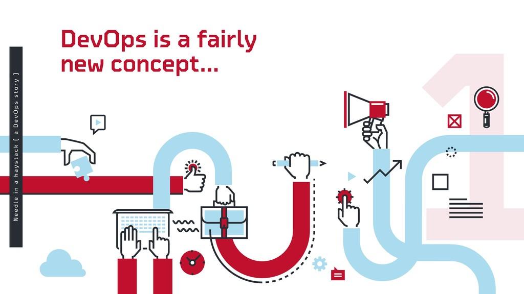 DevOps is a fairly new concept... N e e d l e i...