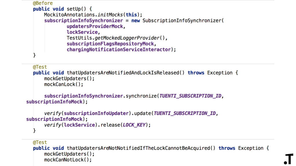Code readability + Naming + Code structure + DSL
