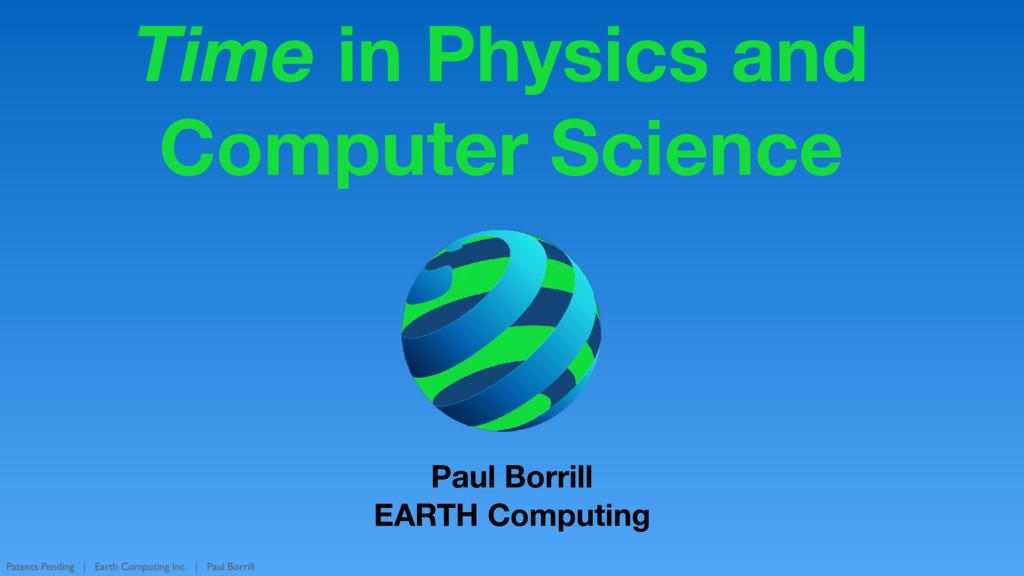 Patents Pending | Earth Computing Inc. | Paul B...