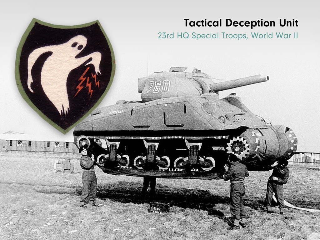 Tactical Deception Unit 23rd HQ Special Troops,...