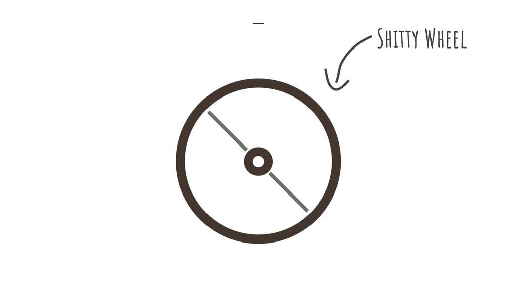 Shitty Wheel