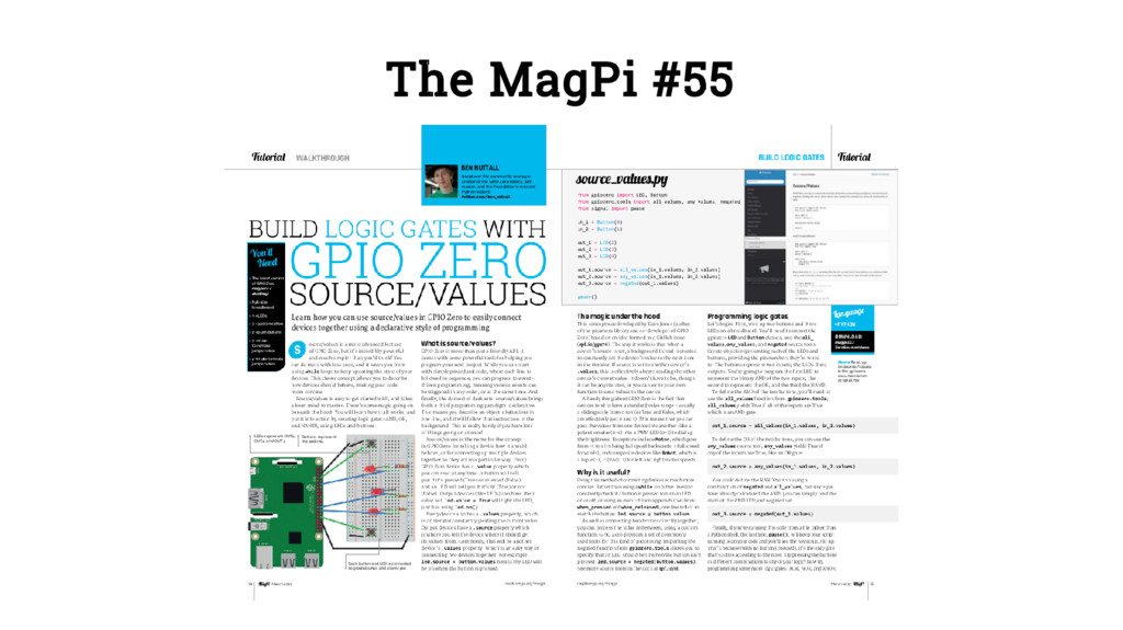 The MagPi #55