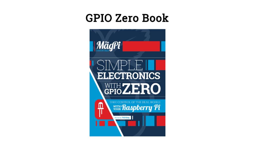 GPIO Zero Book