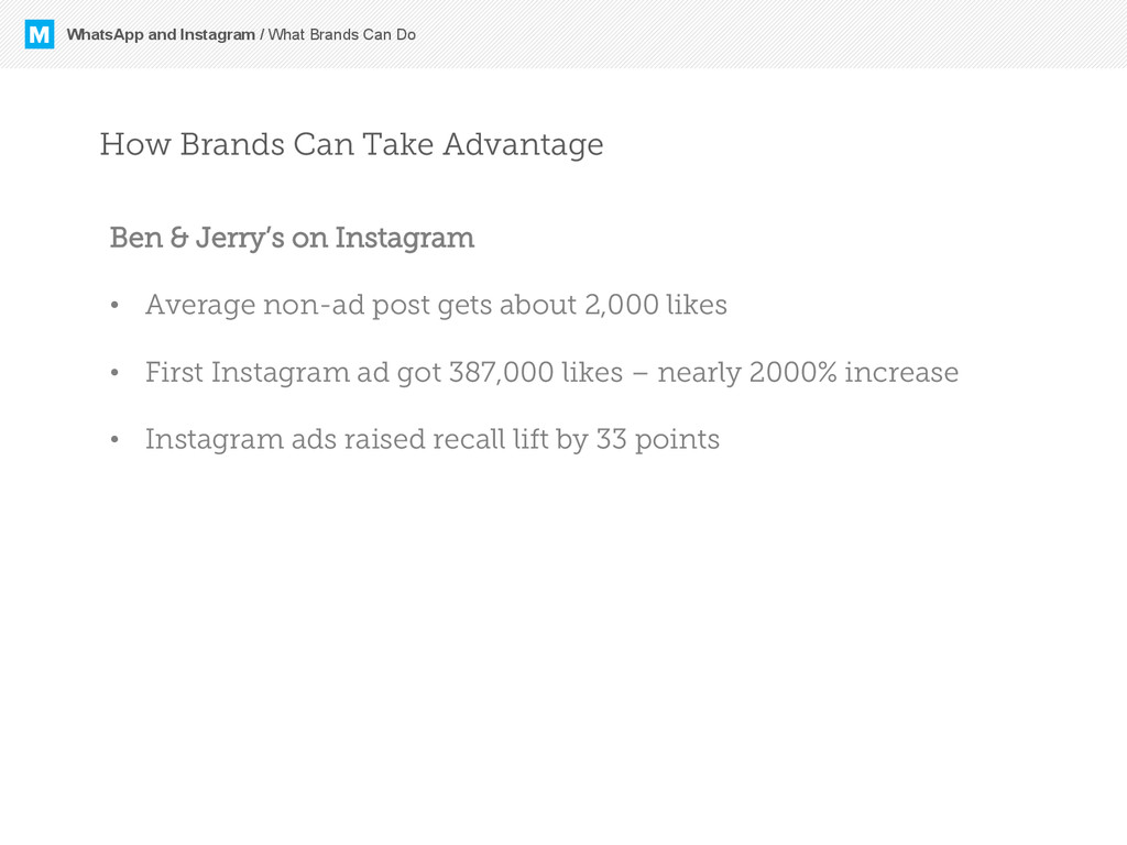 M WhatsApp and Instagram / What Brands Can Do H...