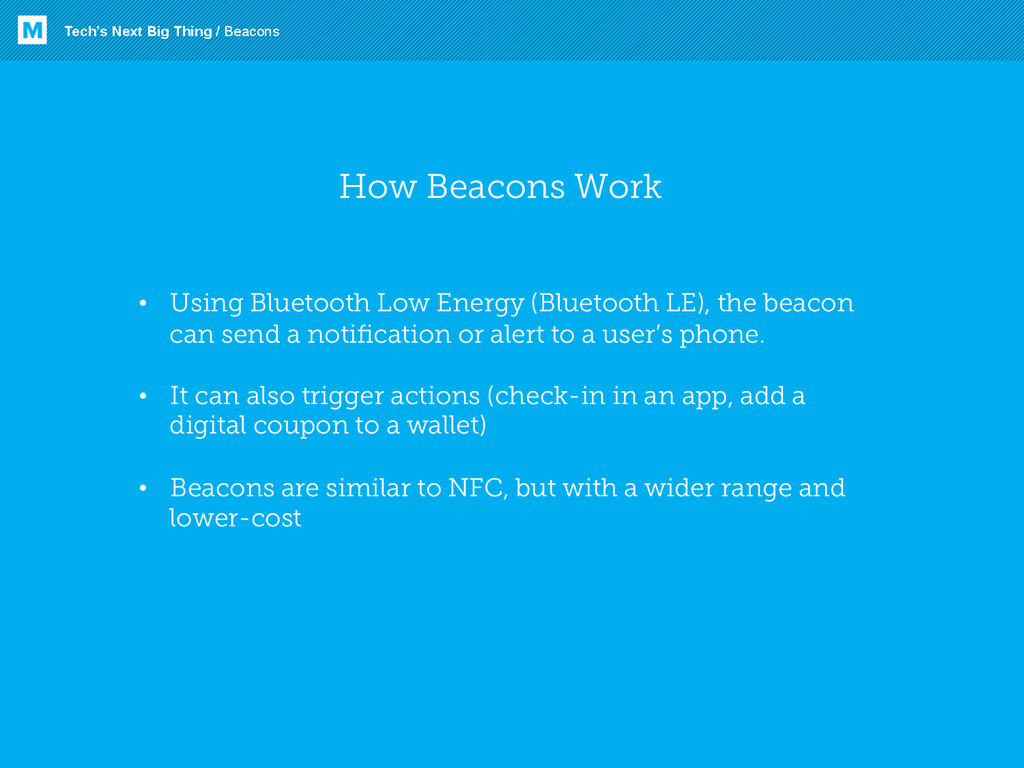 How Beacons Work • Using Bluetooth Low Energy ...