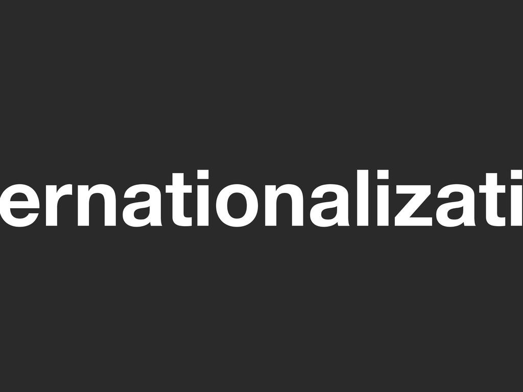 ernationalizati