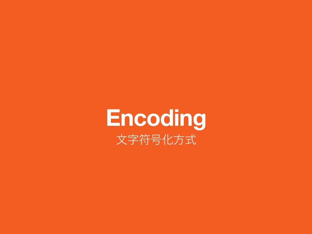 Encoding จූ߸Խํࣜ