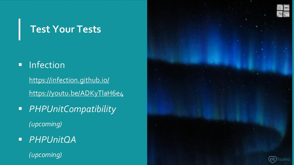 Test Your Tests ▪ Infection https://infection.g...