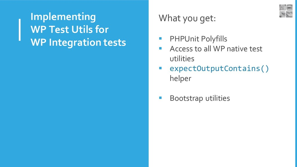 Implementing WP Test Utils for WP Integration t...