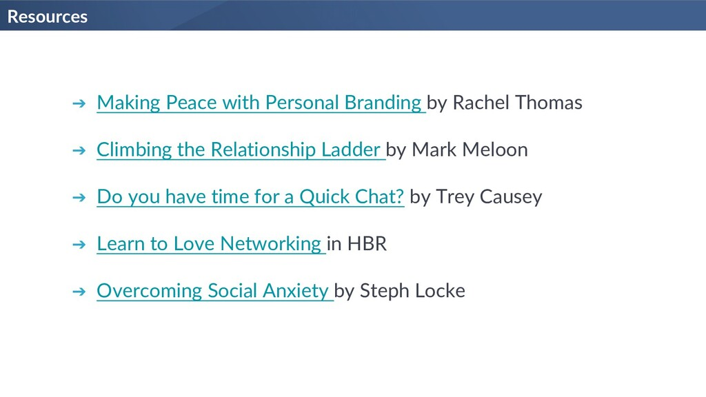 Resources ➔ Making Peace with Personal Branding...