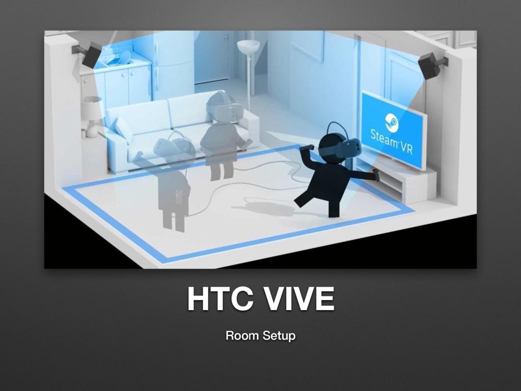 HTC VIVE Room Setup