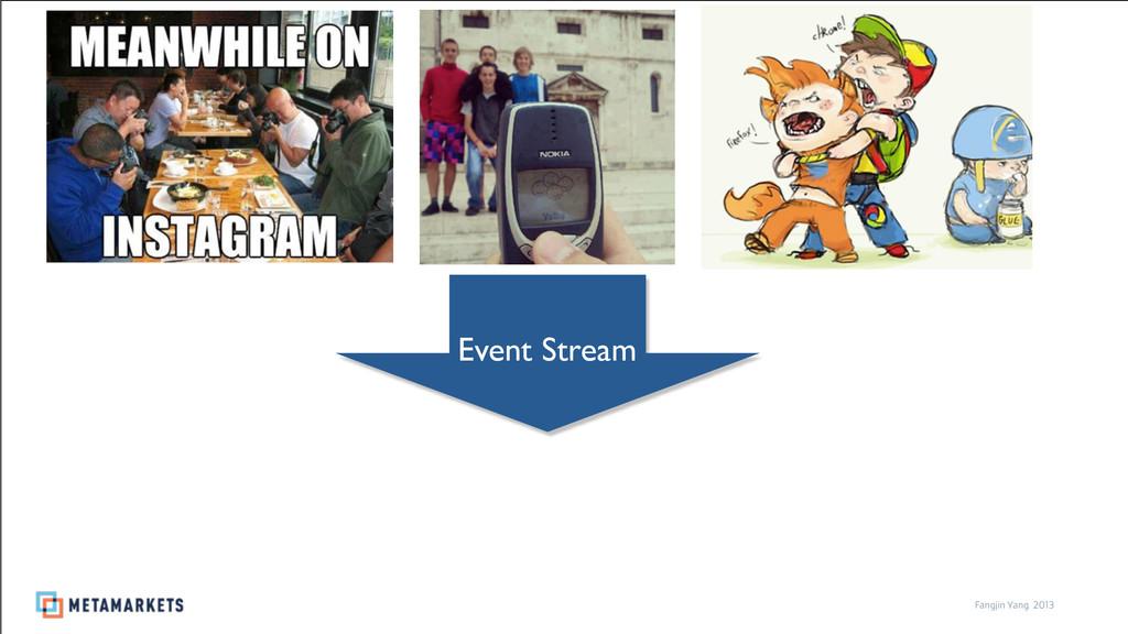 2013 Fangjin Yang 2013 Event Stream