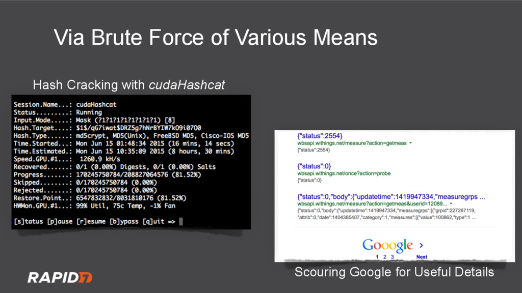 Hash Cracking with cudaHashcat Scouring Google ...