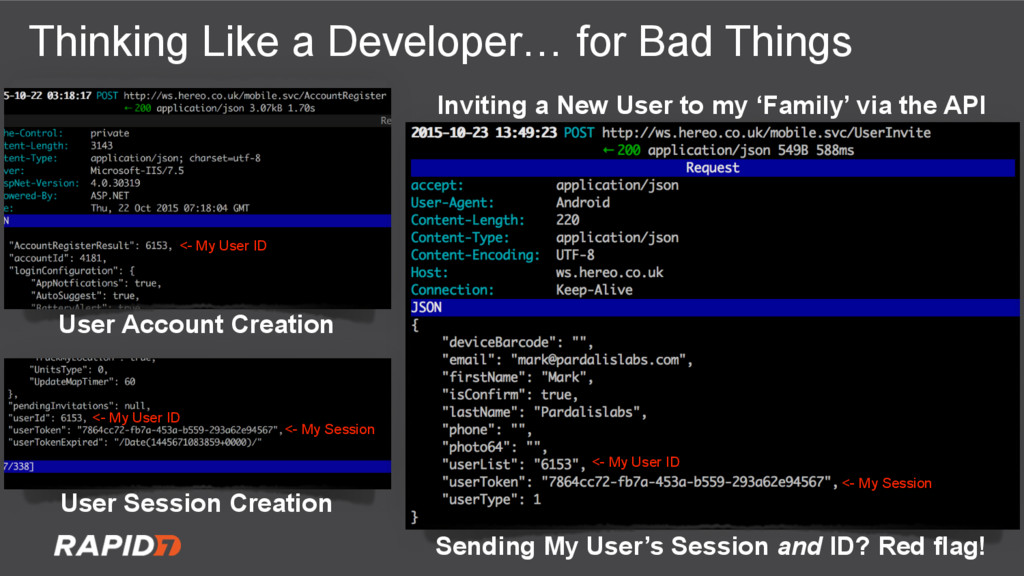 Thinking Like a Developer… for Bad Things Sendi...