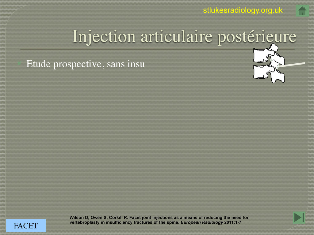 stlukesradiology.org.uk Injection articulaire p...
