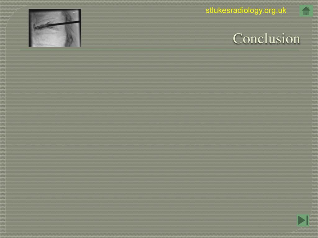 stlukesradiology.org.uk  Conclusion