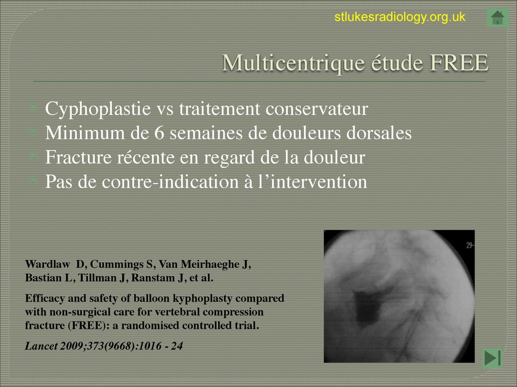 stlukesradiology.org.uk  Multicentrique étude ...