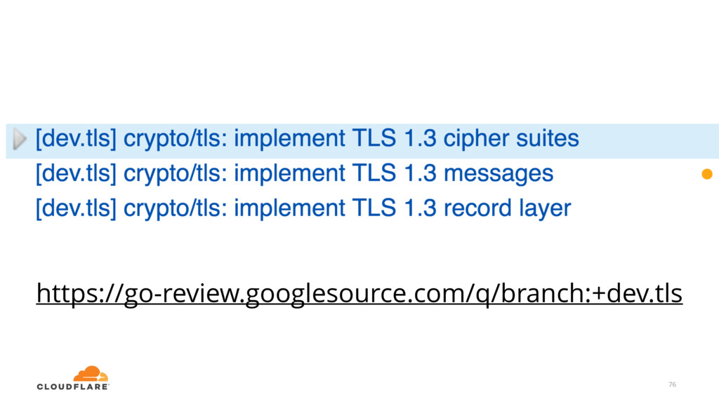 https://go-review.googlesource.com/q/branch:+de...