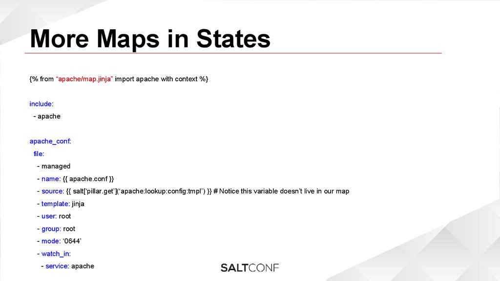 """More Maps in States {% from """"apache/map.jinja"""" ..."""