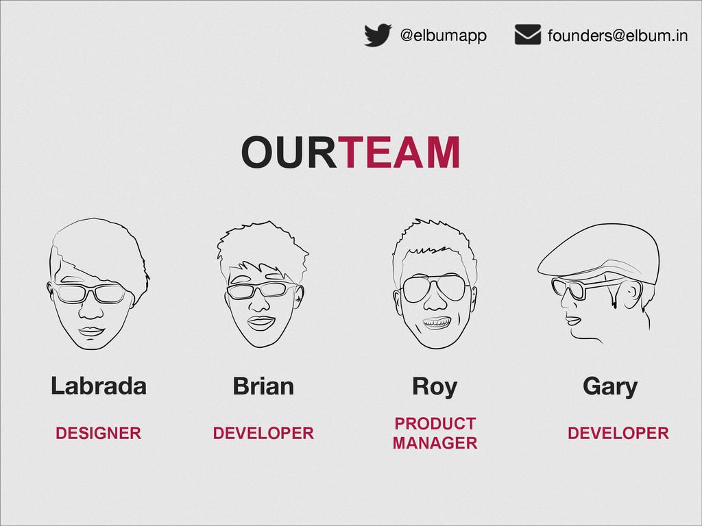 @elbumapp founders@elbum.in OURTEAM Labrada Bri...