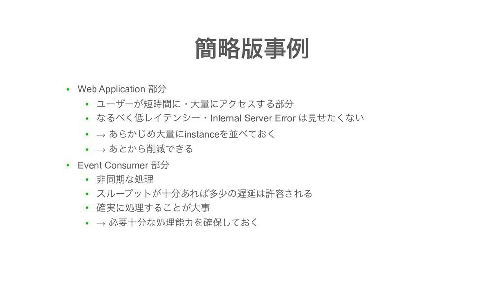 ● Web Application ෦ ● Ϣʔβʔ͕ؒʹɾେྔʹΞΫηε͢Δ෦ ● ...