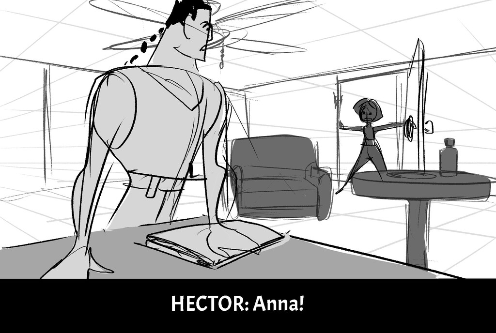 H E C T O R : A n n a !