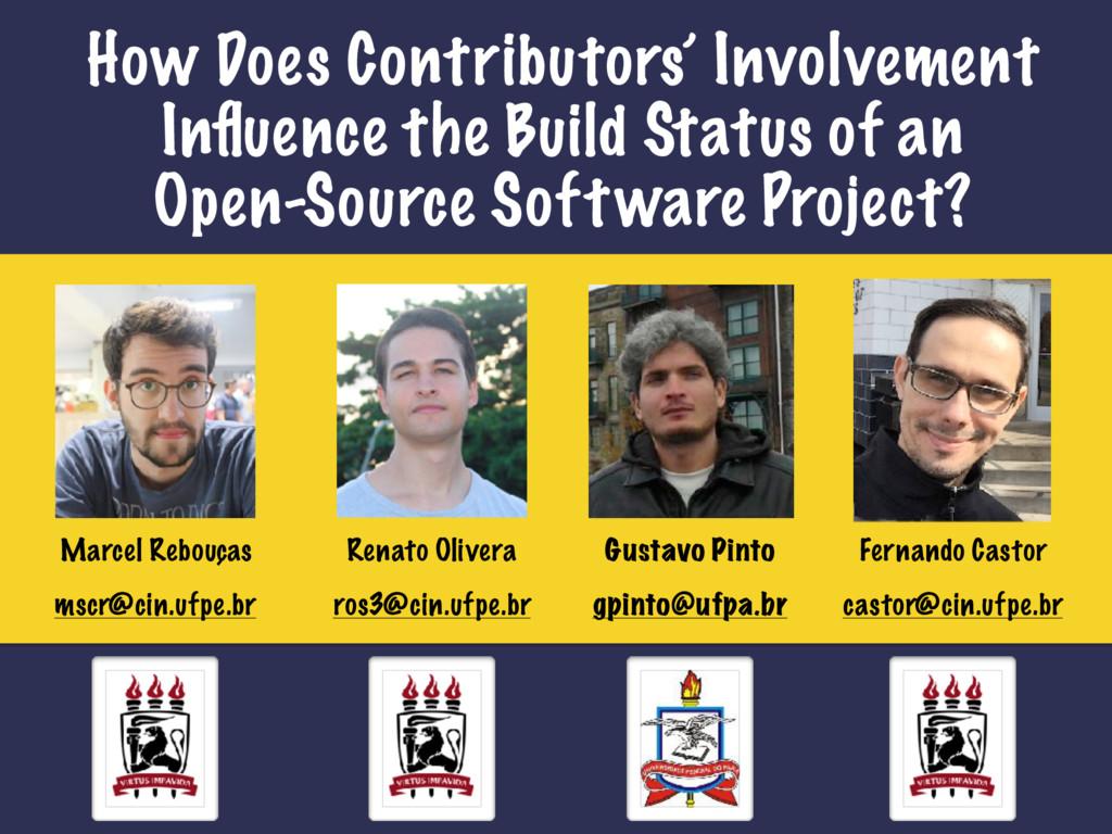 Marcel Rebouças How Does Contributors' Involvem...