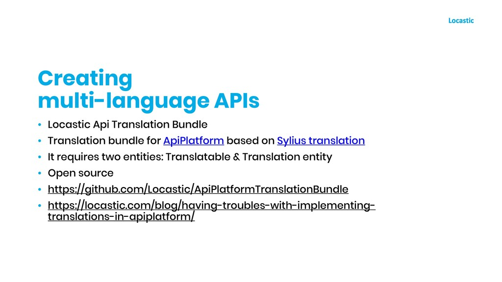 • Locastic Api Translation Bundle • Translation...