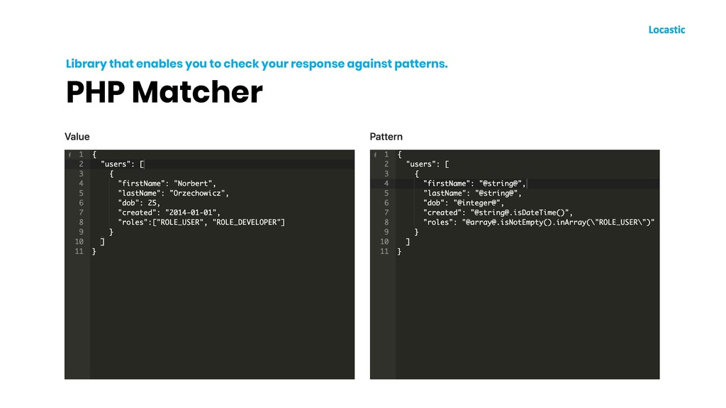 PHP Matcher Library that enables you to check y...