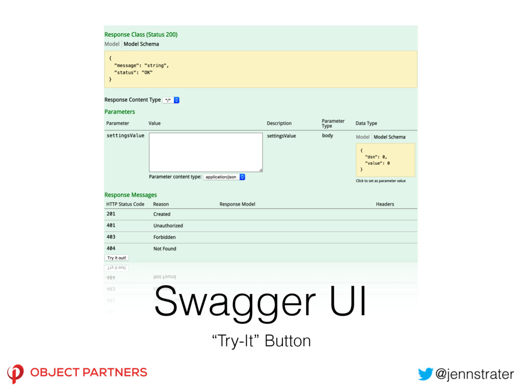 """Swagger UI """"Try-It"""" Button"""
