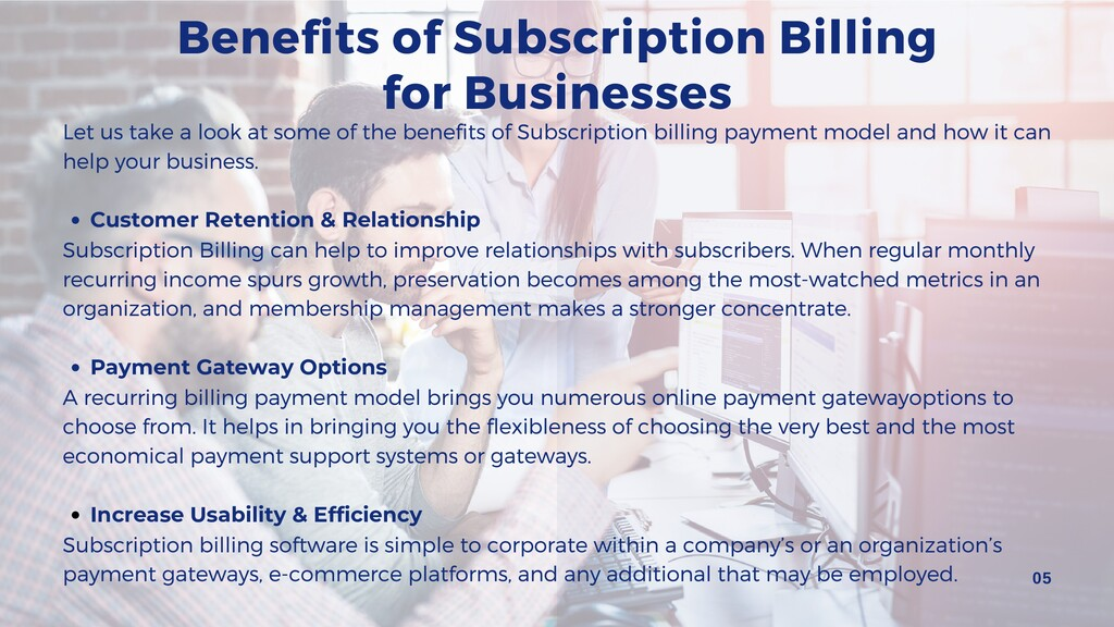 Benefits of Subscription Billing for Businesses...