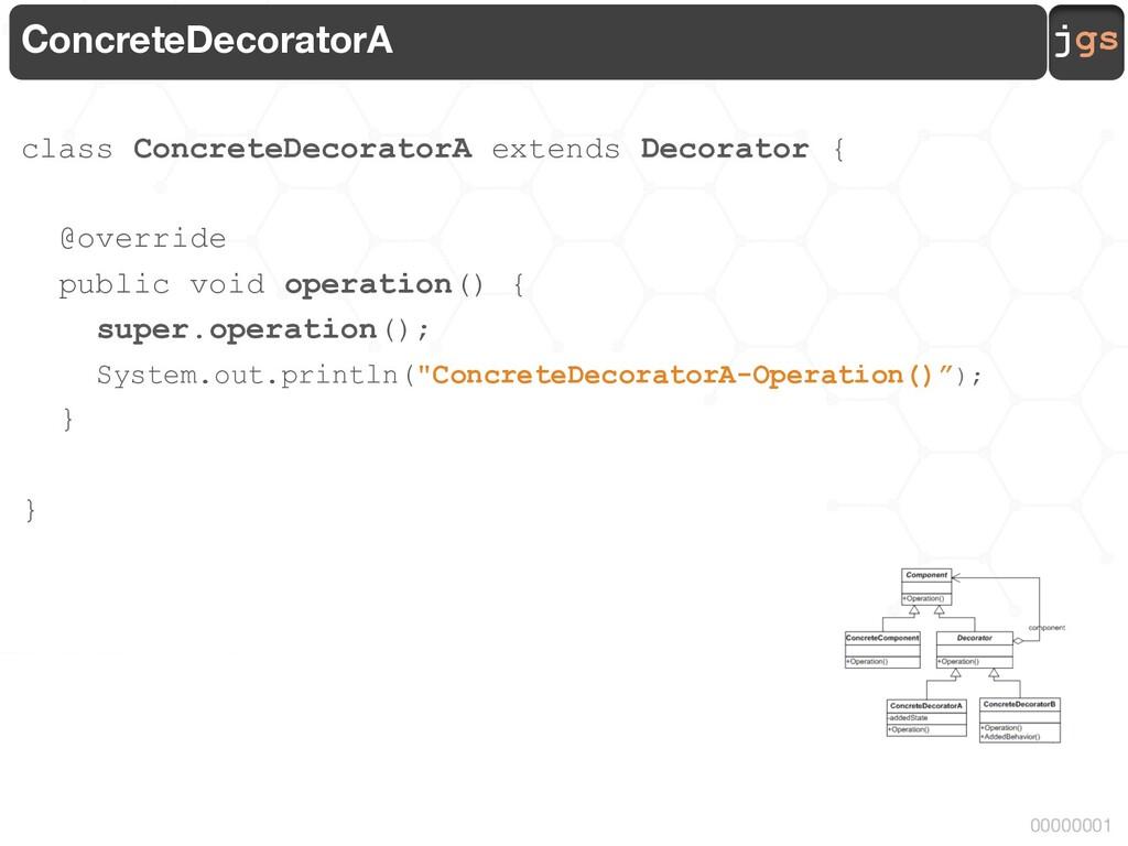 jgs 00000001 ConcreteDecoratorA class ConcreteD...