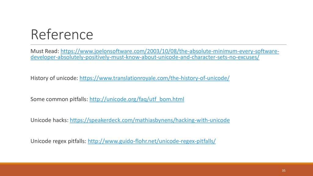 Reference Must Read: https://www.joelonsoftware...