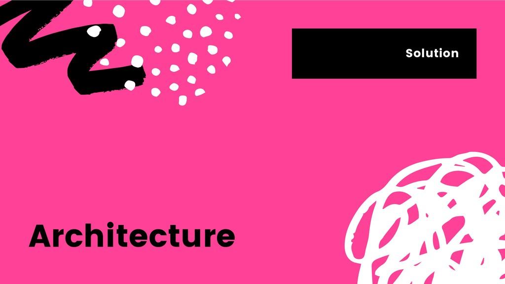Architecture Solution