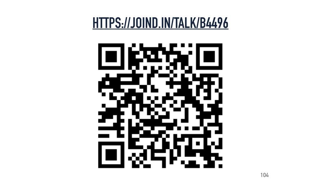 HTTPS://JOIND.IN/TALK/B4496 104