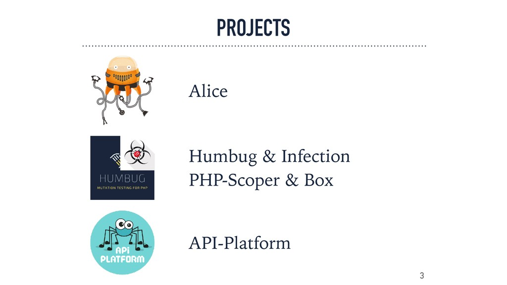 PROJECTS 3 Alice Humbug & Infection PHP-Scoper...