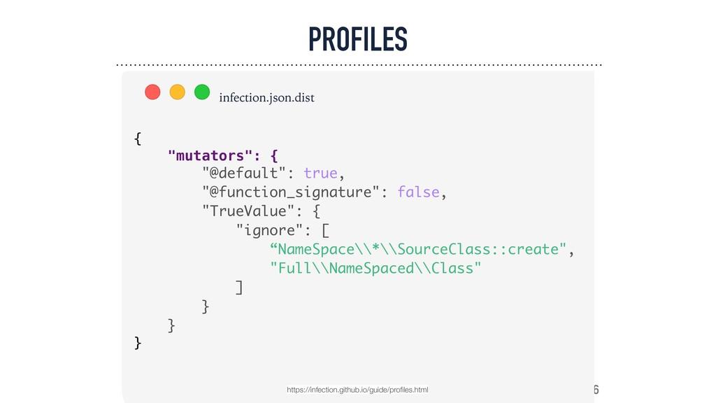 "PROFILES 76 { ""mutators"": { ""@default"": true, ""..."